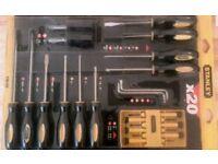 Stanley 20 piece screwdriver set
