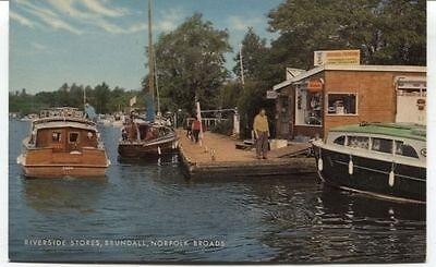 Alte Postkarte - Riverside Stores - (Riverside Stores)