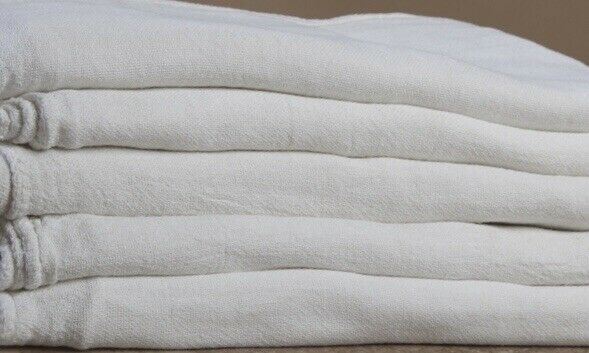 500 new great mechanics shop rags towels white heavy Duty