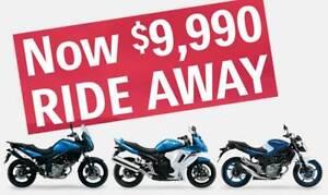 Suzuki DL650 V-Strom, Brand New ride away $9,490 Lams or Full pow Frankston North Frankston Area Preview