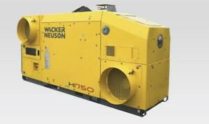 Chauffage Wacker Neuson HI750 indirect Air Respirable Heater