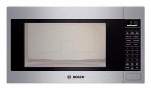 Four à micro-ondes encastré Bosch, 2 pi cu, Stainless