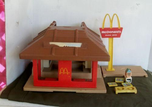 Toys For Restaurants : Vintage mcdonalds toy restaurant ebay