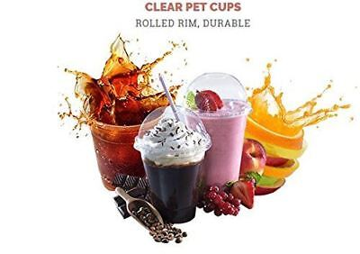 Kast Disposable Plastic Cups, Heay Duty Clear Plastic Drink Cup