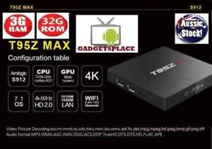 T95Z MAX 3G 32G Octa Core Android 7.1.2 Smart TV BOX Amlogic S912 Doveton Casey Area Preview