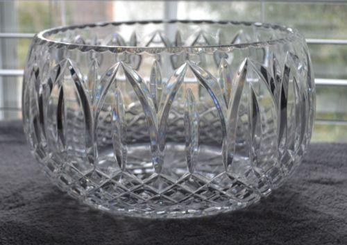 Large Crystal Bowl Ebay