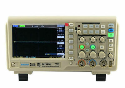 1 New Atten Ga1102cal 100mhz Dual Channels Digital Oscilloscope 1gsas -1.9gsas