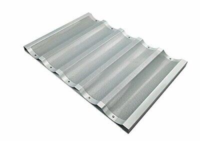 Winco Abp-5w 18 X 26-inch 5 Slot Wide Aluminum Baguette Pan