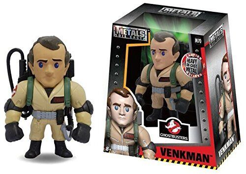 "JADA 4"" METALS GHOSTBUSTERS VENKMAN DIE CAST FIGURE NEW 97639 UK SELLER"