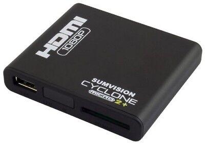 New Sumvision Cyclone Micro 2+ Media Player Full HD MKV HDMI 1080p 5.1 Surround