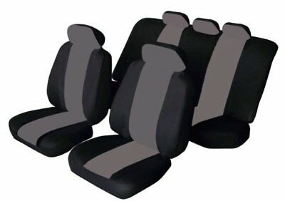 11 PCE FLORIDA BLACK/GREY Seat Covers Opel Astra Corsa Insignia Vectra Adam