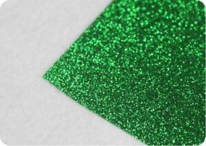 1 Yard Green Top Quality Glitter Heat Transfer Vinyl  Width is 20 -002719