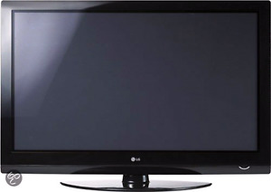 LG 42 inch plasma TV working great, with built in sound bar.