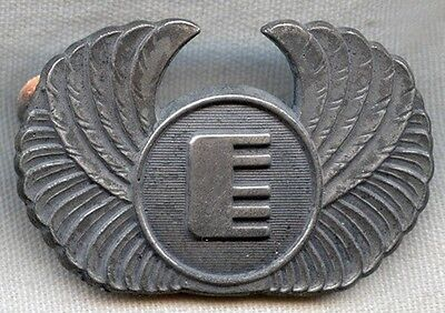Mid 1970S Federal Express  Fedex  Pilot Hat Badge 2Nd Issue