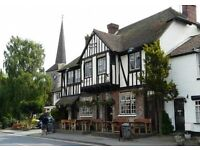 Experienced Bar Manager needed for friendly family pubs located in Eynsford, Kent