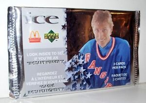 McDonald's Upper Deck ICE packs ........ 1997-98 and 1998-99