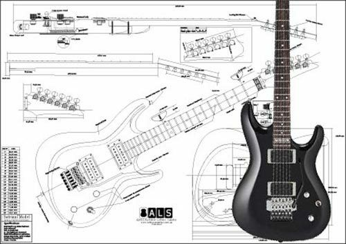 Ibanez Satriani® Electric Guitar Plan