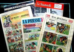 Recherche bandes dessinées TARZAN LA PRESSE, LA PATRIE,  etc