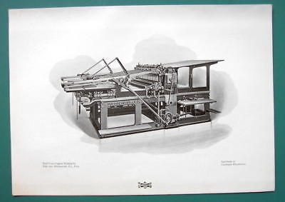 Offset Printing Machinery - PRINTING PRESS by Machinery Trust Co Advertisement - 1901 Offset Litho Print
