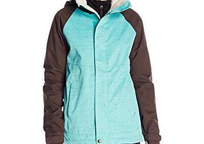 686 Smarty Jacke (686 Damen Smarty Catwalk Snowboardjacke S Tiffany's Textur Fischgrätenmuster)