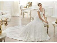 Stunning Pronovias 'Letha' wedding dress size 8010