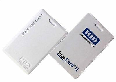 New 50 Hid 1326 Proxcard Ii Access Control Cards 26 Bit 125khz 1326lssmv
