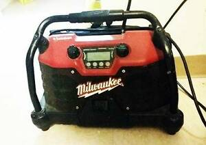 Milwaukee Jobsite Radio powered by Rockford Fosgate