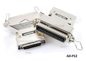 36-Pin Centronics to Mini-Centronics Parallel Printer Adapter, AD-P12