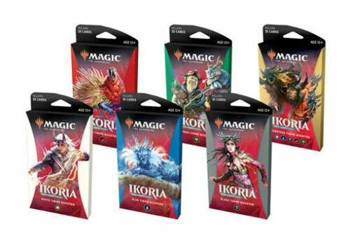 Mtg Magic Ikoria Lair Of Behemoths Theme Boosters Set Of 6 Packs Sealed In Hand!