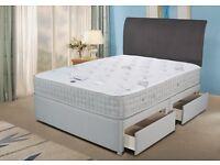 New double divan bed set £109 Including Mattress headboard & base £109 double divan bed set