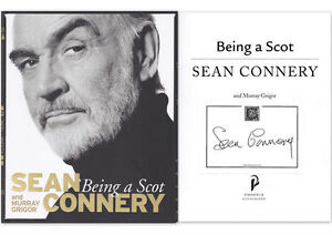 SEAN-CONNERY-BEING-A-SCOT-personally-signed-paperback-version