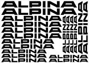 Alpina Sticker