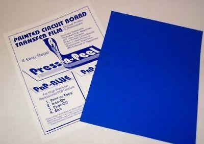 Press-n-peel Heat Toner Laser Transfers Sheets Fortex Jewellery Etching Pcb