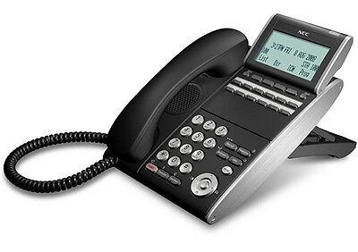 1 Year Warranty Nec Dtl-12d-1 Bk Tel Dt300 Phone Dlvxdz-ybk Black Refurb