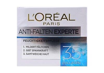 Loreal Anti-falten (Loreal Anti-Falten Experte 35+ Feuchtigkeitscreme // Gesichtspflege, 50ml)