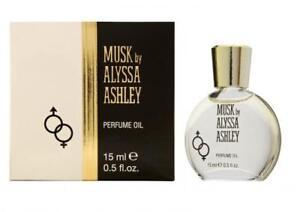 Musk by Alyssa Ashley, .5 oz Perfume Oil for Women NEW