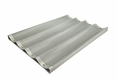 Winco Abp-4l 18 X 26-inch 4 Slot Long Aluminum Baguette Pan