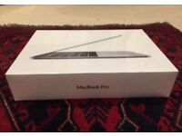 "Apple MacBook Pro 13"" Space Grey 256GB with Touchbar + Applecare"