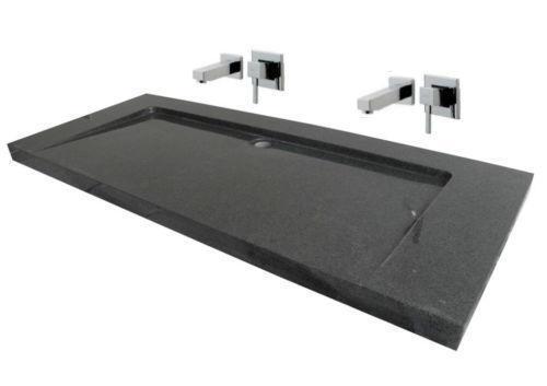 Doppelwaschbecken rund  Schmaler Waschtisch: waschbecken bauhaus. Badewanne setzen ...