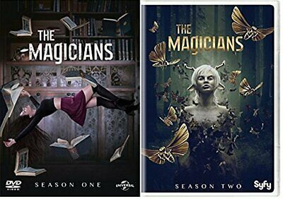 The Magicians All Seasons 1-2 Complete DVD Set Collection Full set FREE SHIPPING