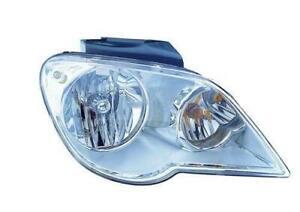 2007-2008 Chrysler Pacifica Headlight Passenger Side Halogen High Quality