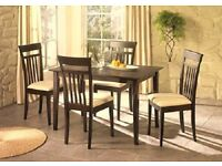 Dining Table – Walnut Wood Effect (FOR 4 OR 6 Chairs)