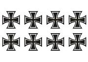 Iron Cross Aufkleber