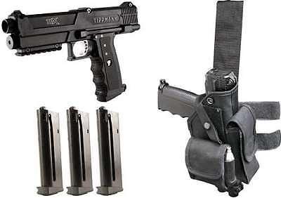 - Tippmann TiPX Deluxe Paintball Gun TPX Pistol Kit Package - Black 68 Cal Marker