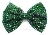 Wedding Hair Accessories Green