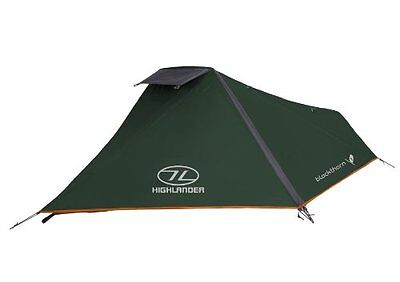 Highlander Blackthorn Hunters Green Military 1 Man Tent Bivi Shelter Military