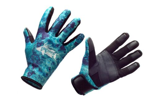 DXDIVER CAMO AMARA DIVE GLOVES 2MM NEOPRENE FREEDIVING SPEARFISHING