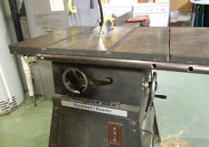 LOOKING FOR ROCKWELL/BEAVER 9 INCH TABLES SAW