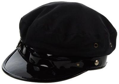 DSQUARED2 S/S 2013 BLACK CAB DRIVER HAT M S HUT PAPERBOY CAP CHIC