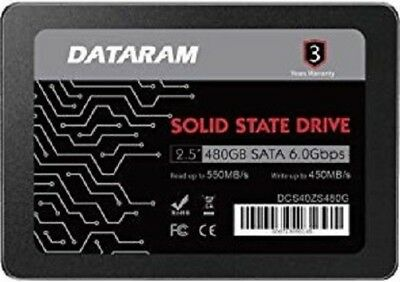 "DATARAM 480GB 2.5"" SSD DRIVE FOR MSI Z270 GAMING M6 AC"